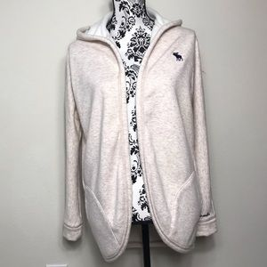 Abercrombie&Fitch Girl's Fashion Cardigan Beige